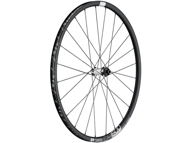 DT Swiss CR 1600 Spline 23 Rueda Delantera Disc CL 100/12mm Eje Pasante, black